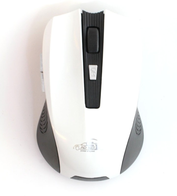 Adnet AD-868 Wireless Optical Gaming Mouse(Bluetooth, White)