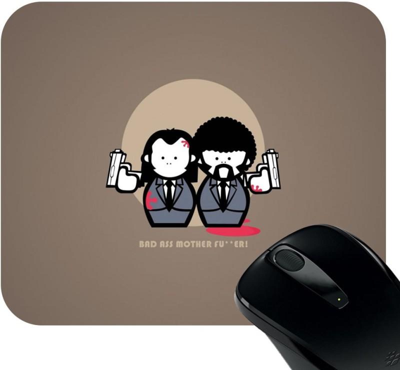 Huppme Hey Brother Mousepad Mousepad(Black)