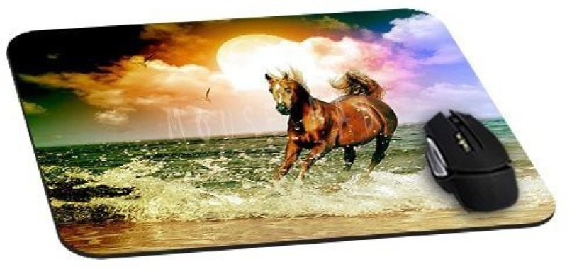 Magic Cases Arabian Horse On The Water animals Mousepad(Multicolor)