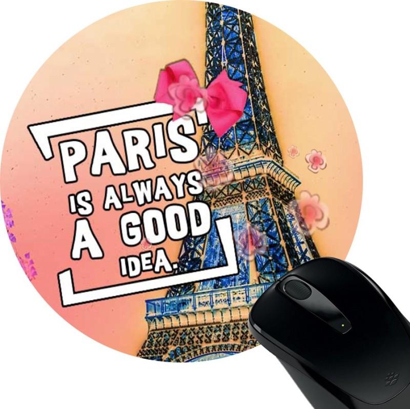 HuppmeGift Paris Mousepad Mousepad(Black)