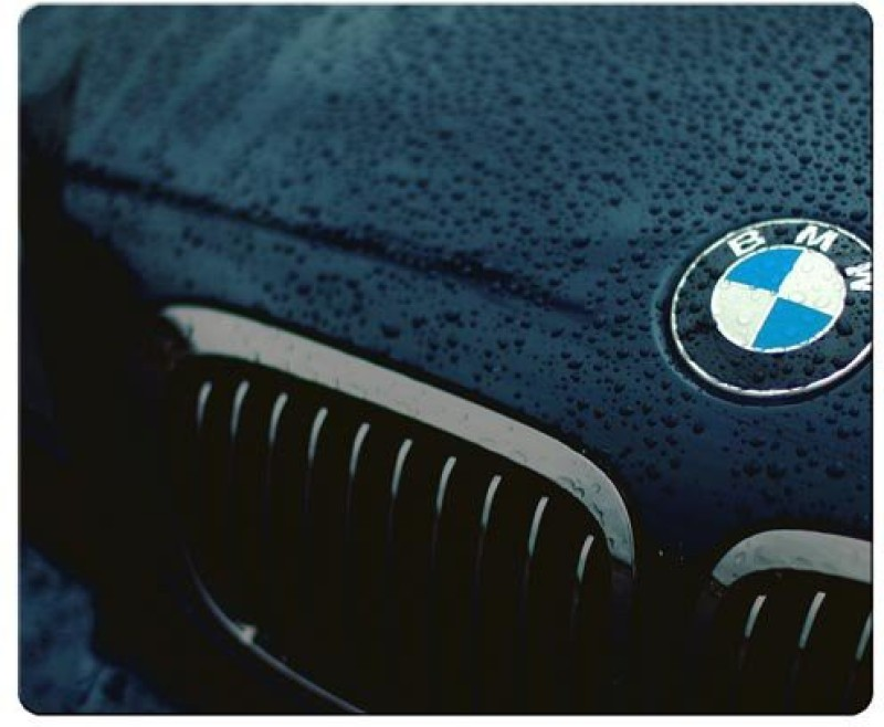 Magic Cases personal s precise cloth antislip with optical mice permanent BMW car logo super Mousepad(Multicolor)