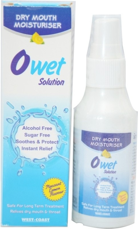 West Coast Owet Solution Dry Mouth Moisturiser (Pack of 2) - Lemon(120 ml)