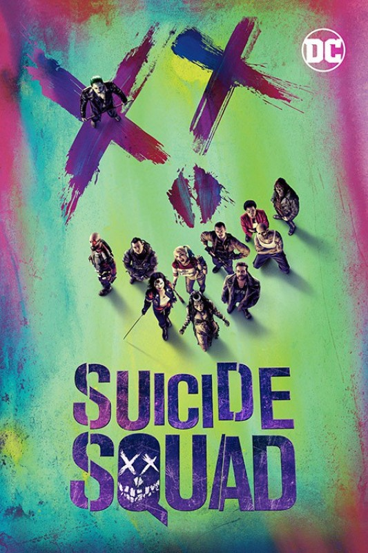 Suicide Squad – 3D BD(3D Blu-ray English)