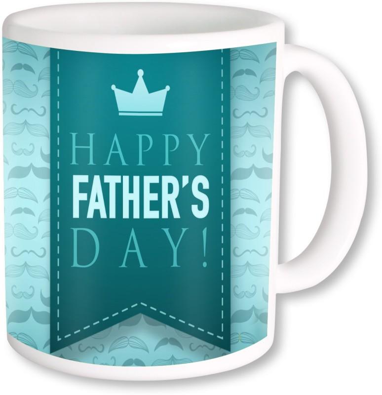PhotogiftsIndia Happy Father's Day 17 Ceramic Mug(325 ml)