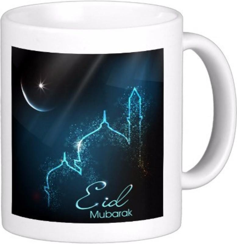 Exoctic Silver Eid Mubarak AB004 Ceramic Mug(300 ml)