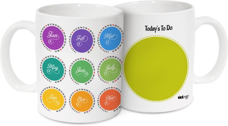 Just ?249 - Calendar Based Mugs - kitchen_dining