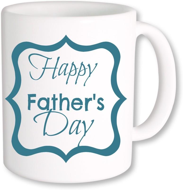 PhotogiftsIndia Happy Father's Day 06 Ceramic Mug(325 ml)
