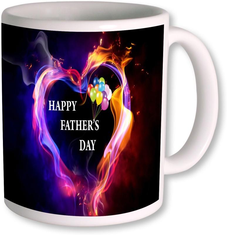 PhotogiftsIndia Happy Fathers Day 073 Ceramic Mug(350 ml)