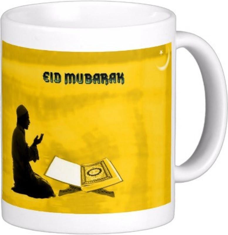 Exoctic Silver Eid Mubarak AB020 Ceramic Mug(300 ml)