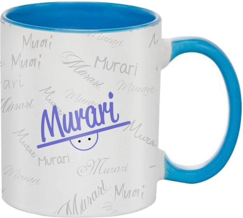 SKY TRENDS Murari Birthday Gift Coffee 350 ML Ceramic Mug(350 ml)