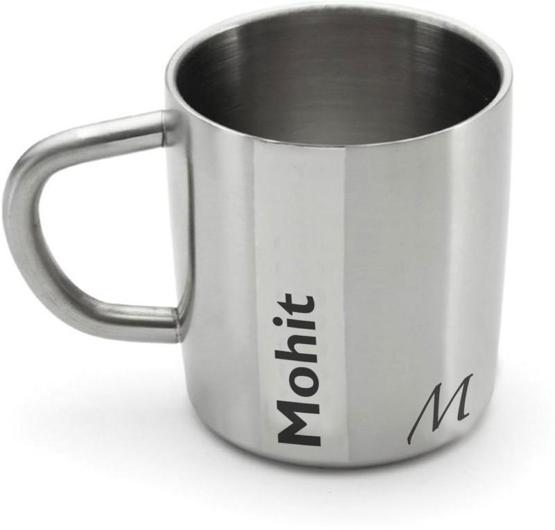 Hot Muggs Me Classic - Mohit Stainless Steel Mug(200 ml)
