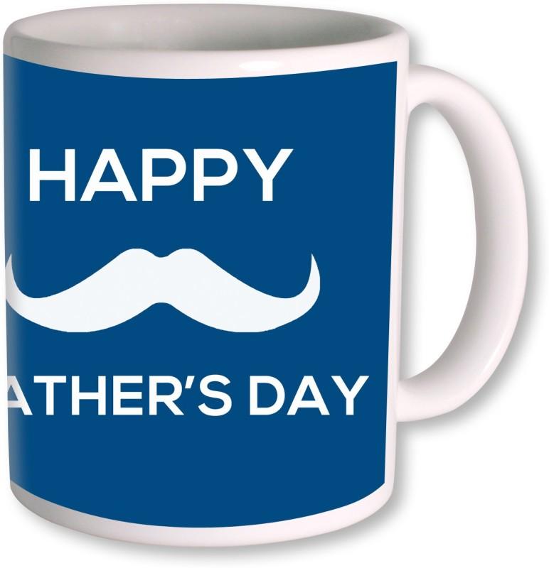 PhotogiftsIndia Happy Fathers Day 114 Ceramic Mug(350 ml)