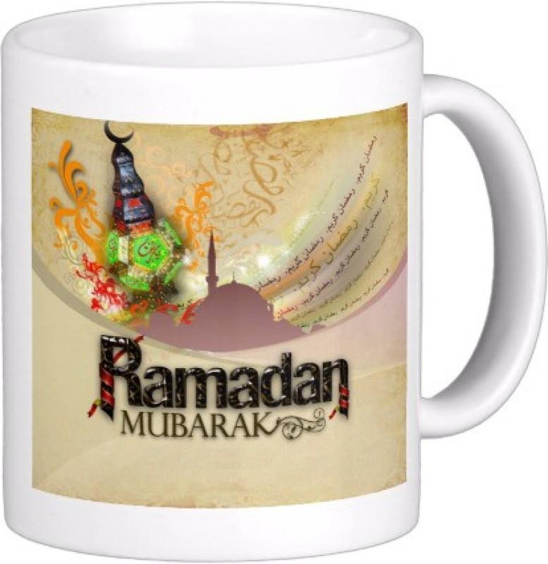 Exoctic Silver Eid Mubarak AB013 Ceramic Mug(300 ml)