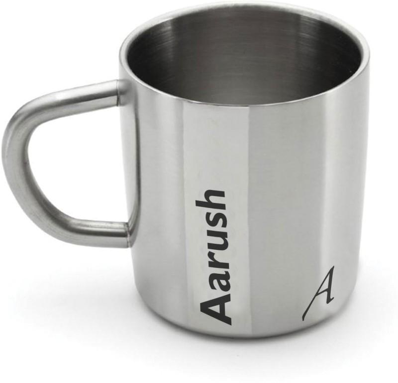 Hot Muggs Me Classic - Aarush Stainless Steel Mug(200 ml)