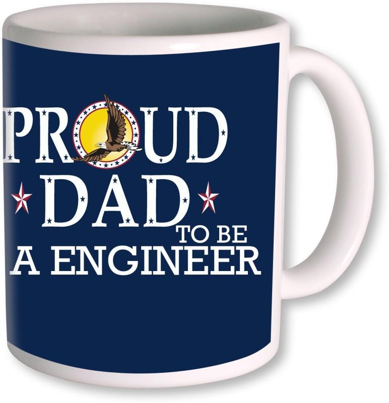 PhotogiftsIndia Happy Fathers Day 194 Ceramic Mug(350 ml)