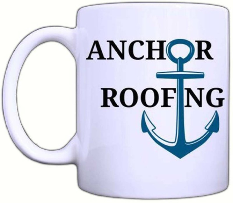 Arkist anchor-roofing-quote-fonts-11-oz Ceramic Mug(340 ml)