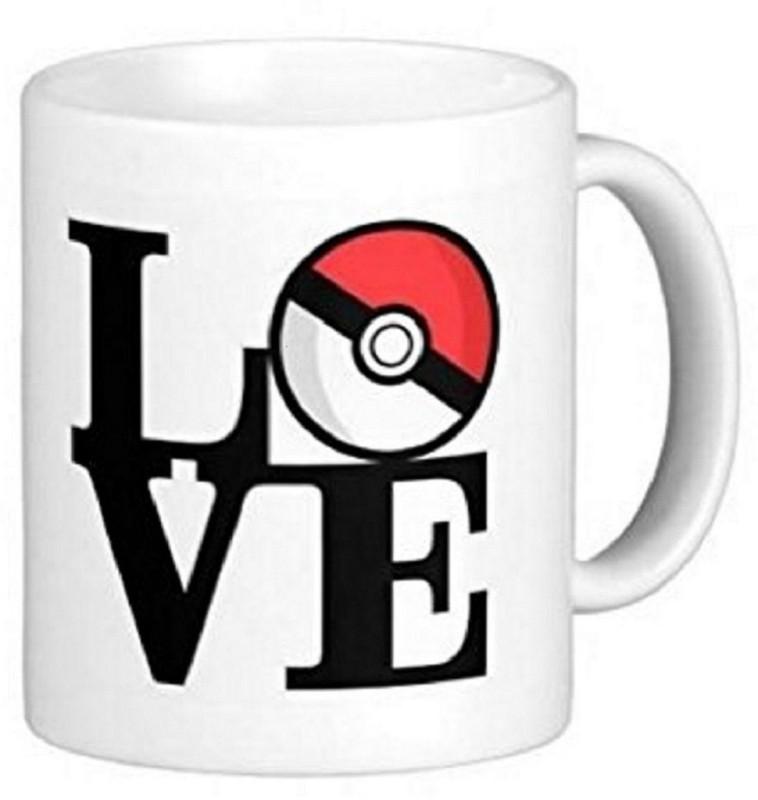 PIXART PokeMon Photo Personalized Ceramic Mug(250 ml)