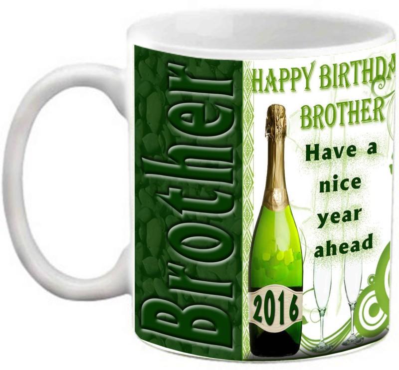 EFW HAPPY BIRTHDAY BROTHER - HAVE A NICE YEAR AHEAD Ceramic Mug(325 ml)