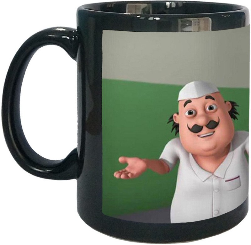 Arkist Motu Patlu Cartoon Ceramic Mug(340 ml)