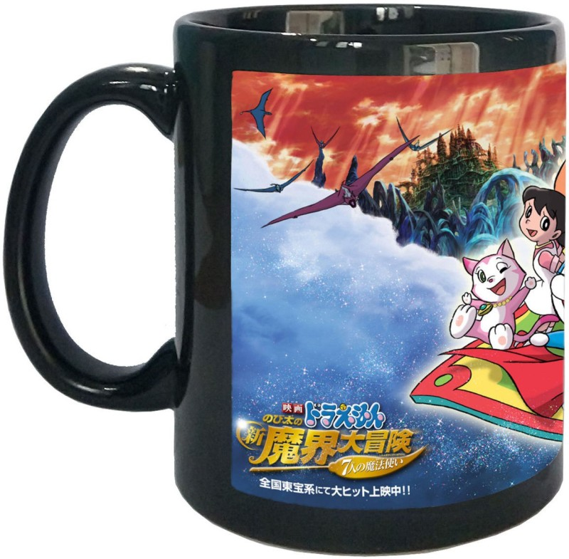 Arkist Doraemon Cartoon-38 Ceramic Mug(340 ml)