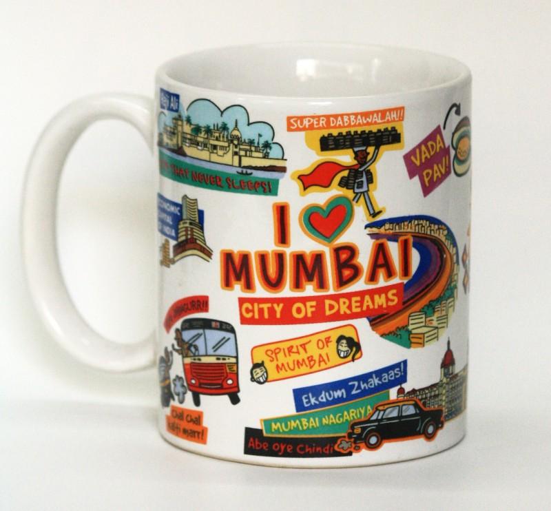 Eco Corner Mumbai Ceramic Ceramic Mug