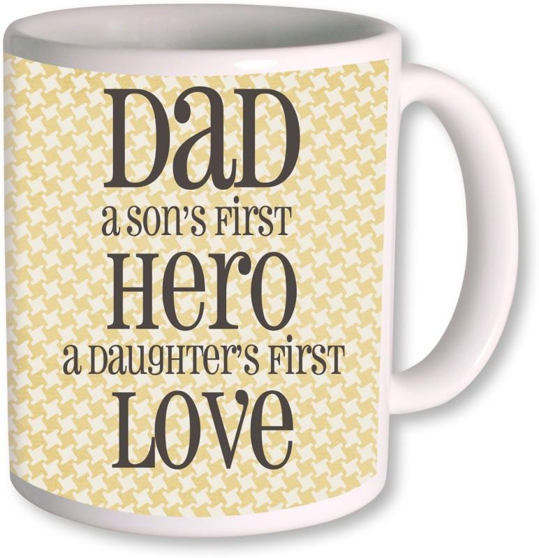 PhotogiftsIndia Happy Fathers Day 152 Ceramic Mug(350 ml)