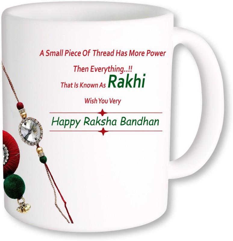 PhotogiftsIndia Rakshabandhan Gift for India Ceramic Mug(325 ml)