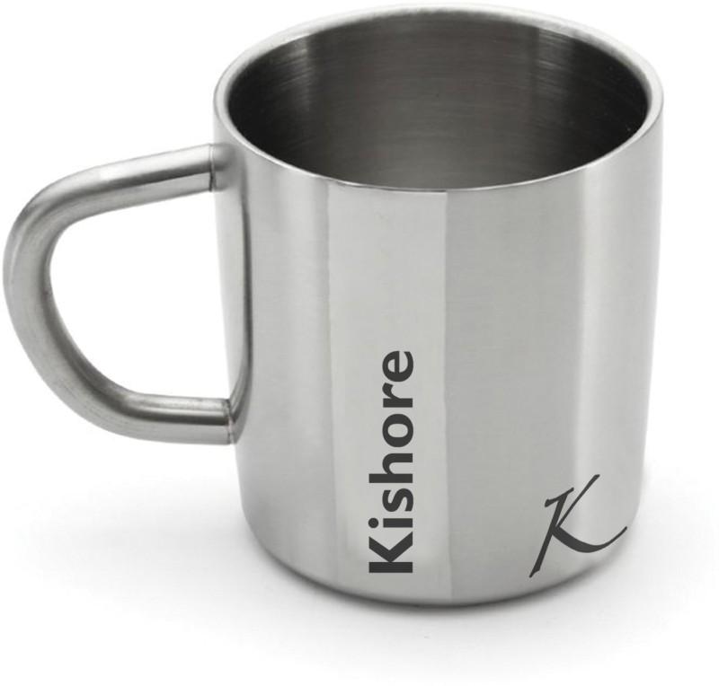Hot Muggs Me Classic - Kishore Stainless Steel Mug(200 ml)