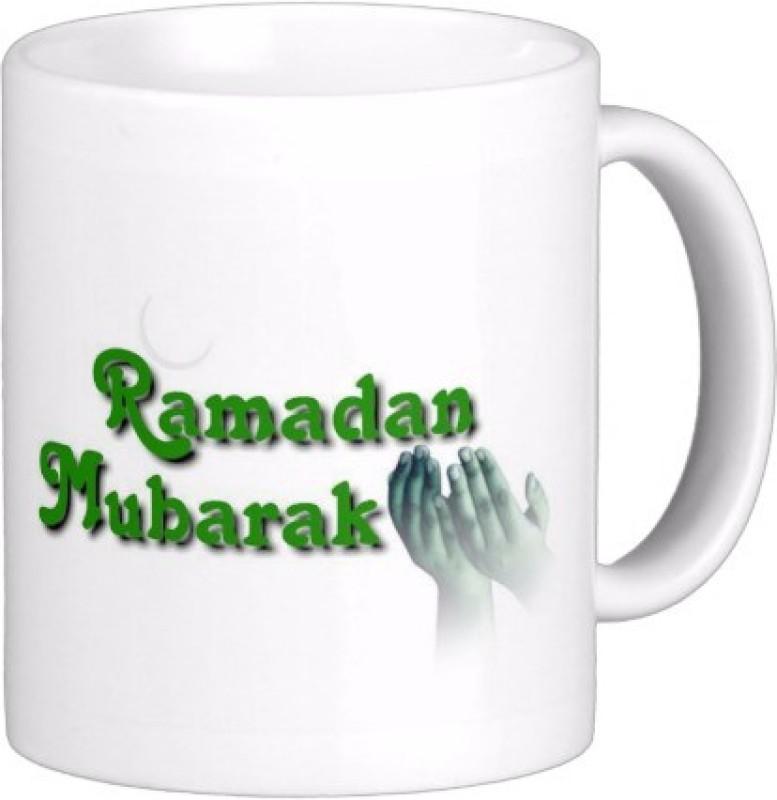 Exoctic Silver Eid Mubarak AB017 Ceramic Mug(300 ml)