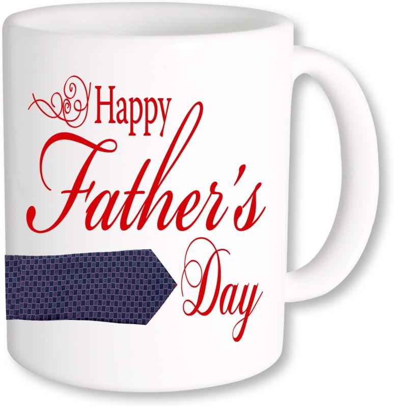 PhotogiftsIndia Happy Father's Day 01 Ceramic Mug(325 ml)