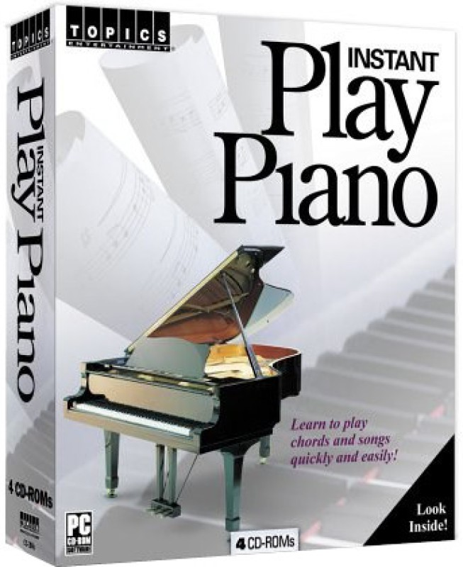 Topics Entertainment Instant Play Piano(4 CD-ROMs)