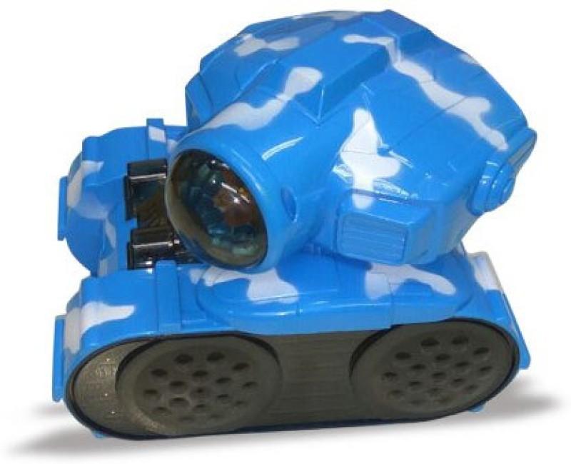 Mitashi SkyKidz Warrior Tank 2 Musical Toy-Blue(Blue)