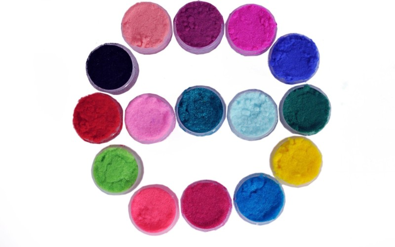 Velvetty Nail Art Powder(Velvetty Special 15 Colours Velvet Nail Art Powder)