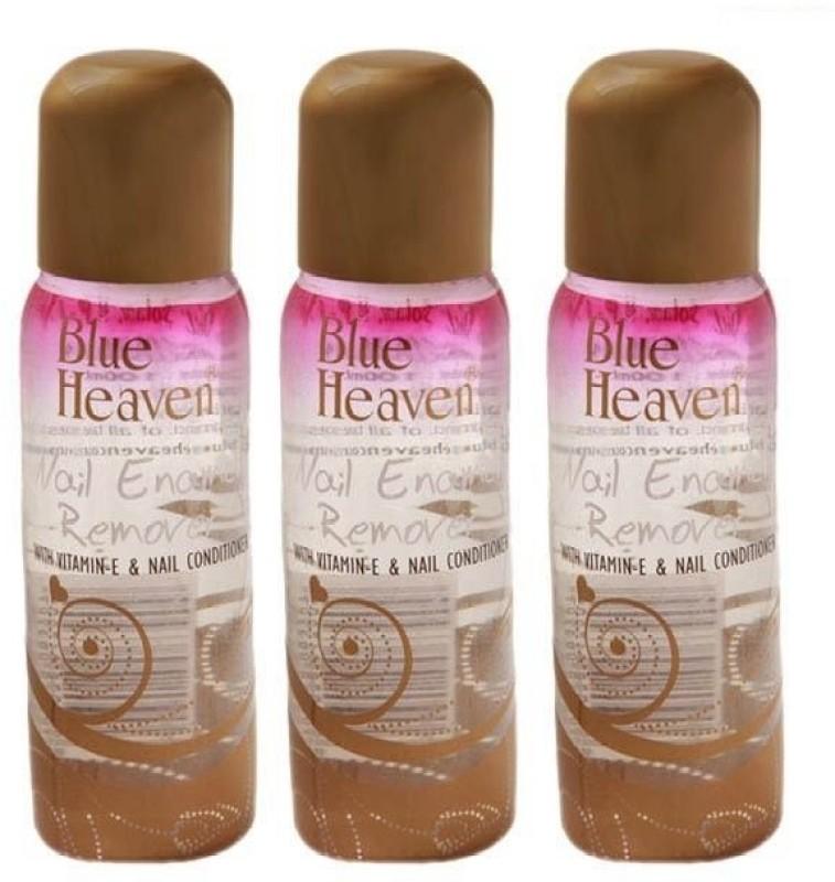 Blue Heaven Nail Polish Remover 100ml( Set of 3 pc)(100 ml)