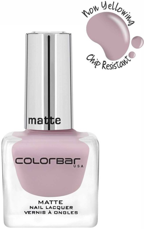 Colorbar Matte Nail Lacquer New Sweet Lilac(12 ml)