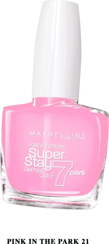 Maybelline SUPER STAY GEL NAIL COLOR PINK IN THE PARK(10 ml) SUPER STAY GEL NAIL COLOR