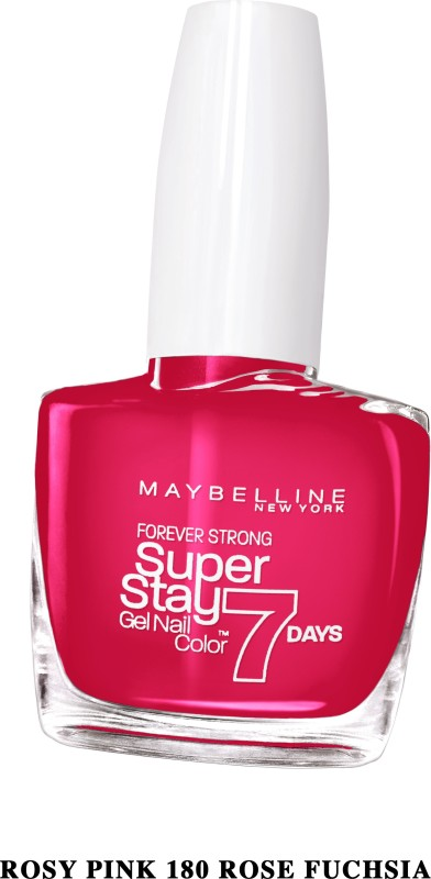 Maybelline SUPER STAY GEL NAIL COLOR ROSY PINK(10 ml) SUPER STAY GEL NAIL COLOR