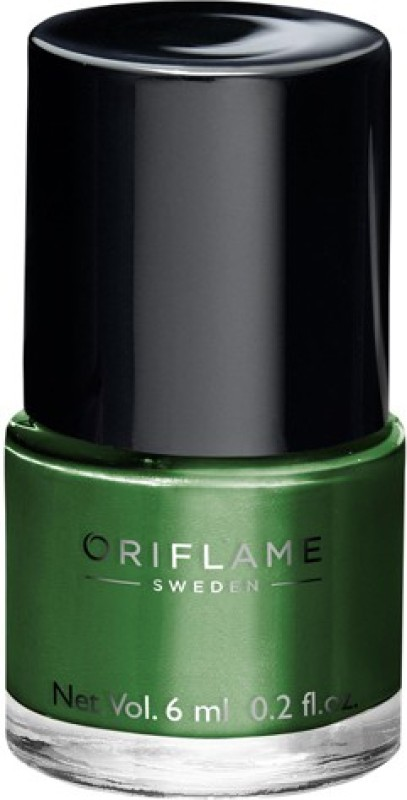 Oriflame Sweden pure colour nail paint sereme green(6 ml)