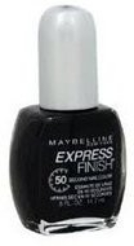 Maybelline Express Finish Nail 640 Classic Black(15 ml) Express Finish Nail 640 Classic Black