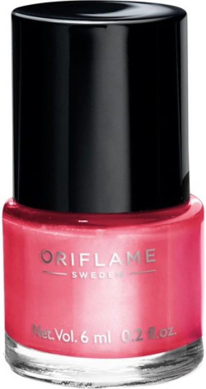 Oriflame Sweden Pure Colour Nail Polish Mini Pink Crush(6 ml)