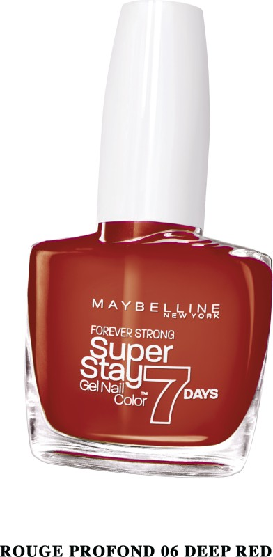 Maybelline SUPER STAY GEL NAIL COLOR DEEP RED(10 ml)