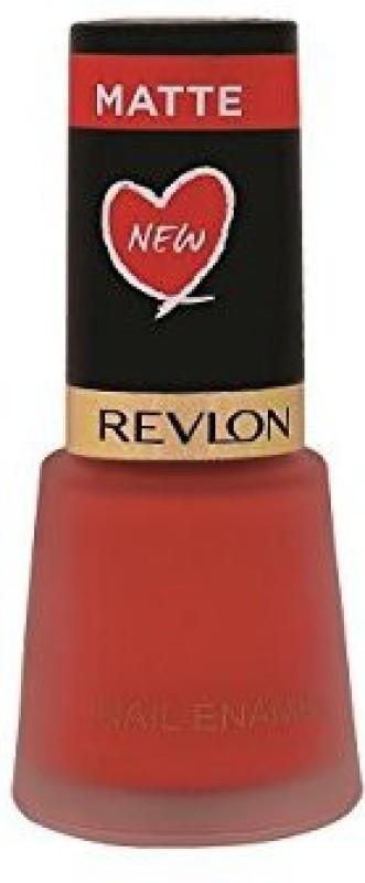 Revlon Nail Enamel - Coral Matte Coral Matte(8 ml)