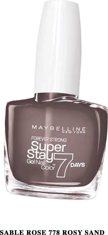 Maybelline SUPER STAY GEL NAIL COLOR ROSY SAND(10 ml) SUPER STAY GEL NAIL COLOR