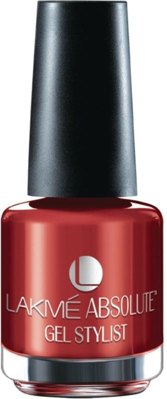 Lakme Absolute Gel Stylist Scarlet Red(15 ml) Absolute Gel Stylist