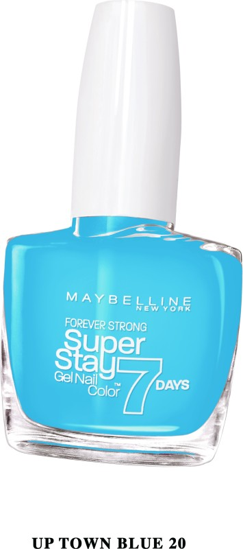 Maybelline SUPER STAY GEL NAIL COLOR UPTOWN BLUE(10 ml) SUPER STAY GEL NAIL COLOR
