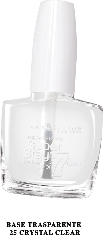 Maybelline SUPER STAY GEL NAIL COLOR CRYSTAL CLEAR(10 ml)