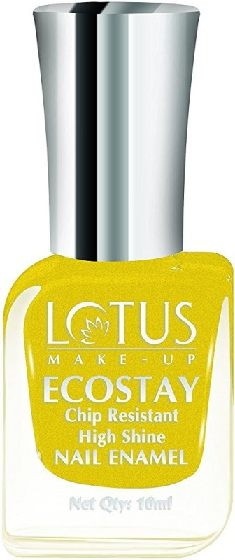 Lotus Make-Up Ecostay Chip Resistant High Shine Nail Enamel SunShine-E45(10 ml)