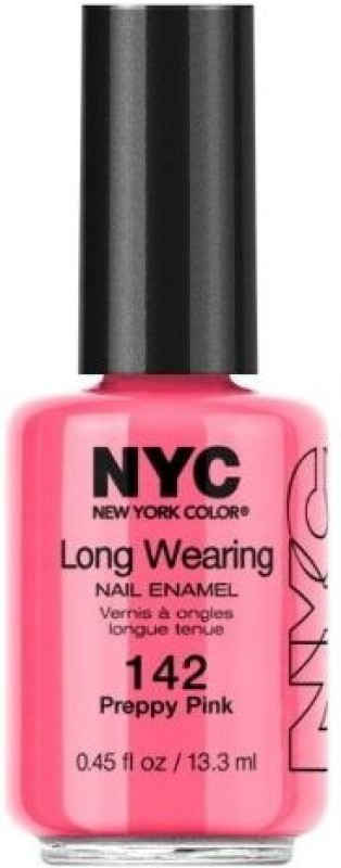 Nyc Long Wearing Nail Enamle Preppy Pink 823D05840 pink
