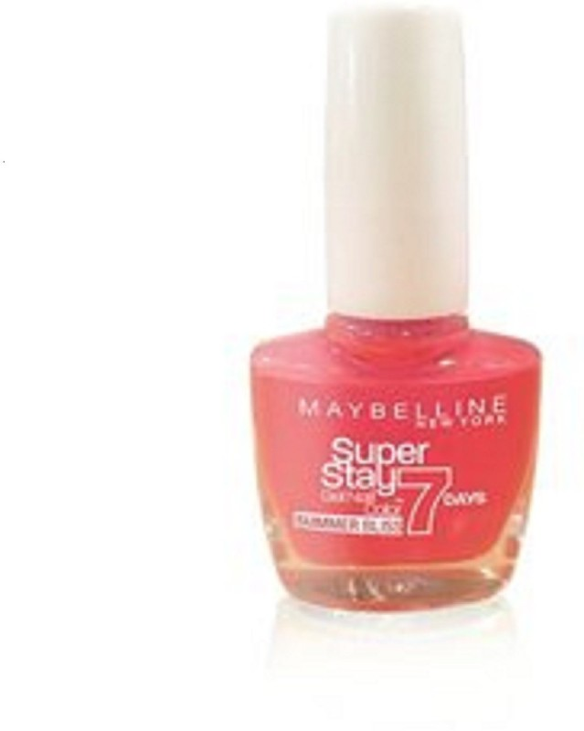 Maybelline super stay gel nail color Red hot getaway, 872(10 ml) super stay gel nail color