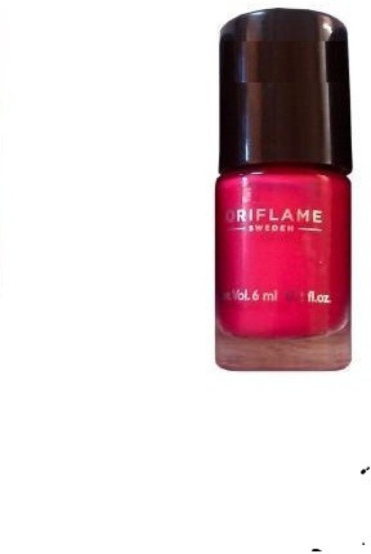 Pure Colour Nail Polish Mini Hot Fuchsia(Pack of 5)